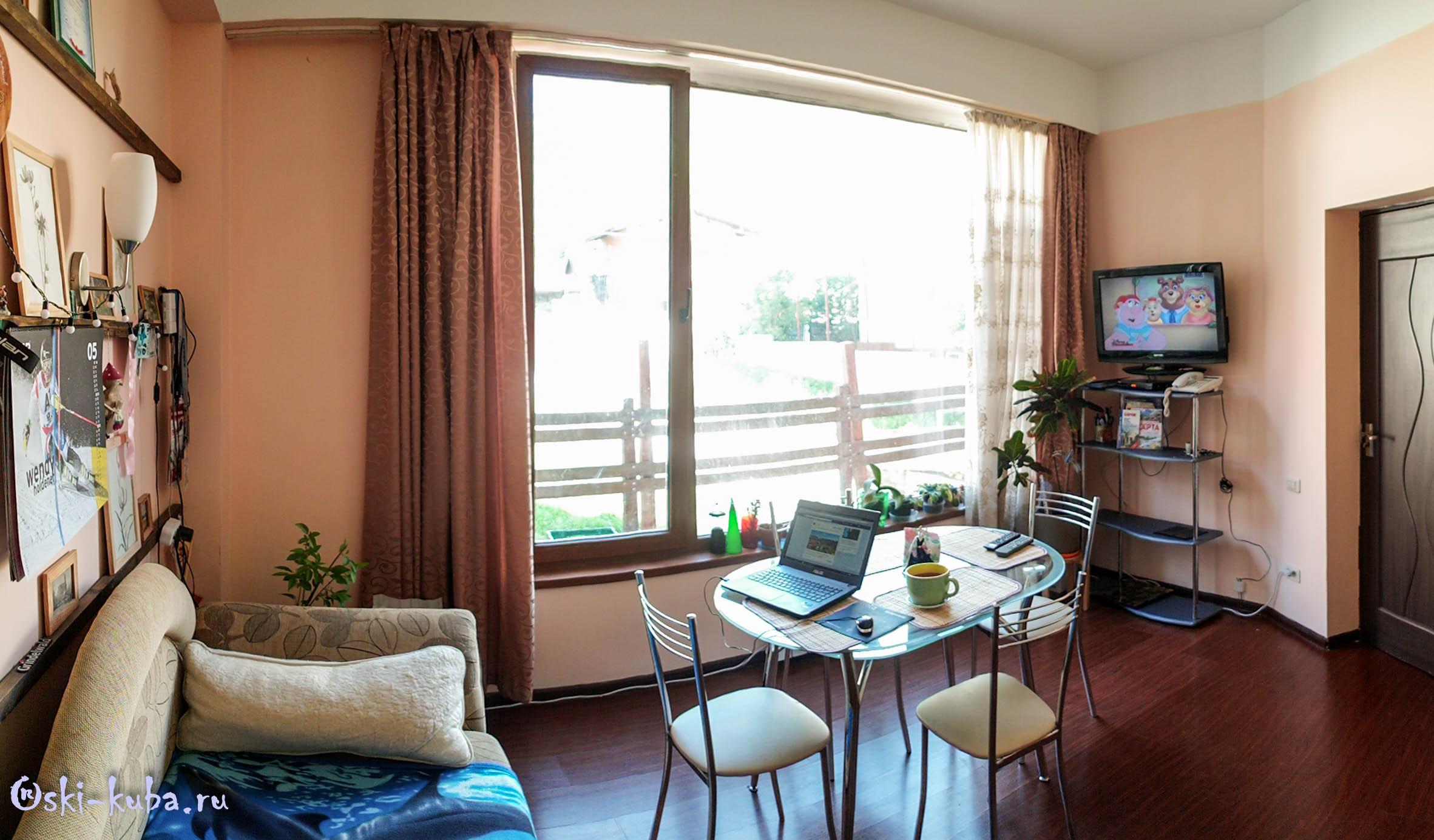 Апартаменты на Турчинского 50. Кухня - студия