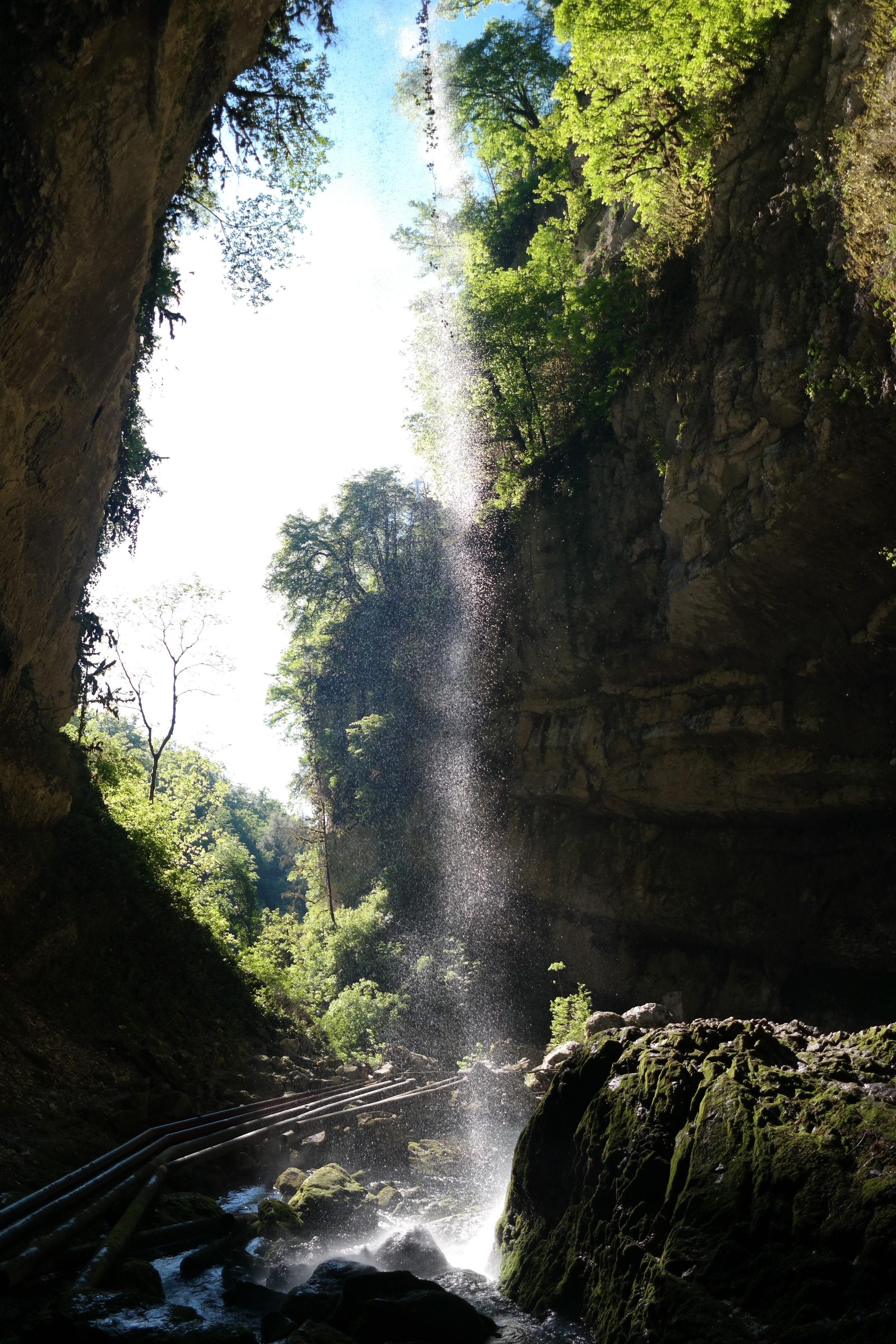 Водопад «Пасть Дракона» в Красной Поляне