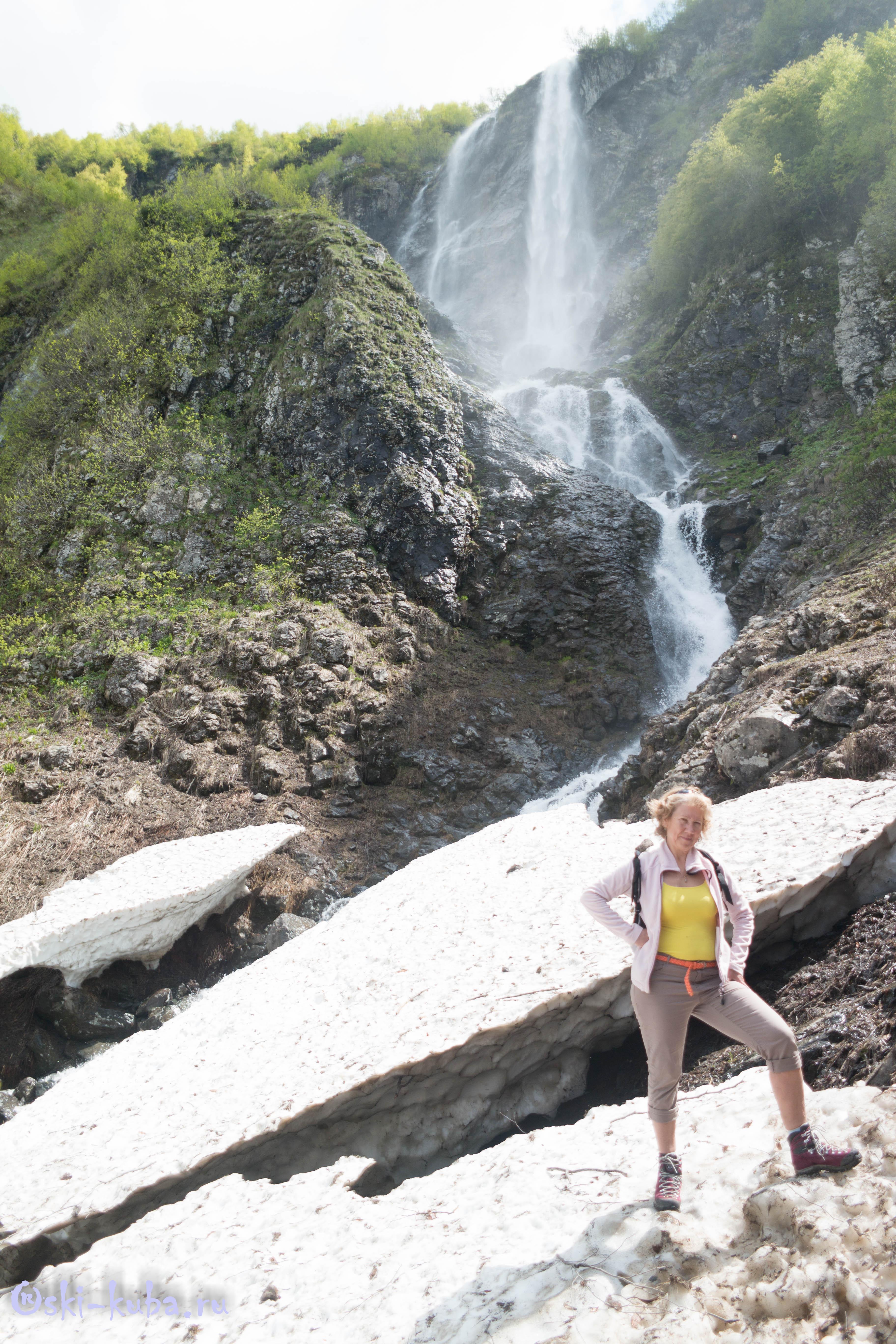 Водопад Поликаря в Красной Поляне