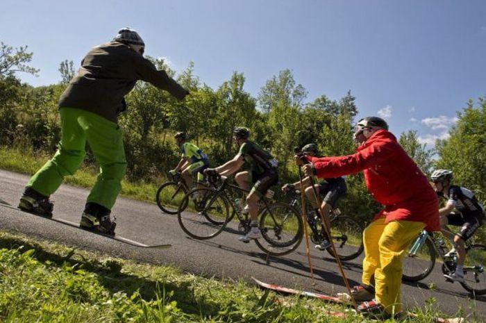 Сезон велотрекинга в Красной Поляне открыт